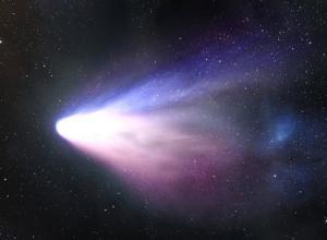 Der Komet Hale-Bopp (Bild: NASA)