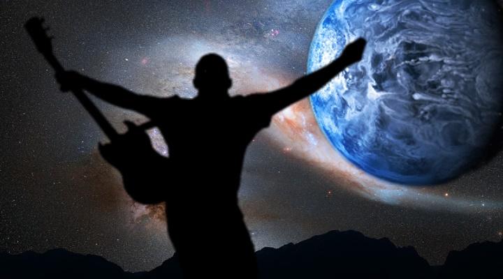 Die außerirdischen Anunnaki, der Nibiru und die Schöpfung der Menschheit des Zecharia Sitchin im Heavy Metal (Bilder: gemeinfrei & NASA / Montage: Fischinger-Online)