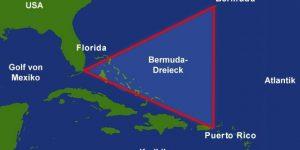 (Schon wieder) Pyramiden im Bermuda-Dreieck gefunden? (Bild: gemeinfrei / Bearbeitung: L. A. Fischinger)