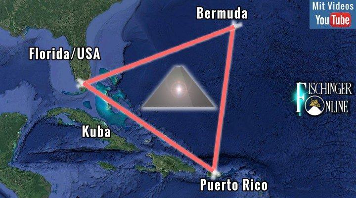"""Spektakuläre """"Kristall-Pyramiden"""" im Bermuda-Dreieck entdeckt?"""