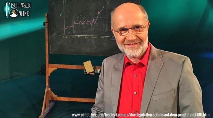 """Harald Lesch im Interview 2002: """"Erich von Däniken ist ein außerordentlich interessanter Ideengeber"""" (Bild: Screenshot ZDF/Lesch Kosmos)"""