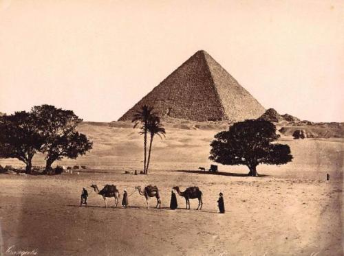 Mythos & Rätsel Cheops-Pyramide (Bild: L. A. Fischinger / gemeinfrei)