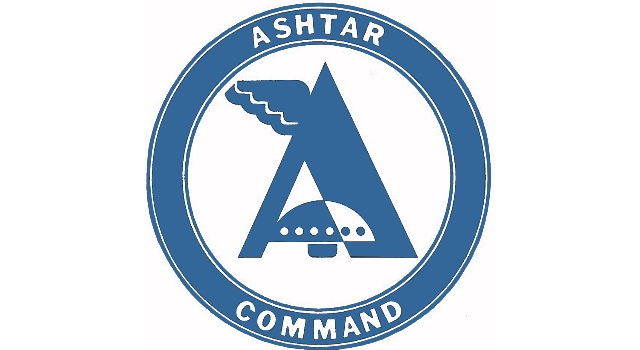 """Logo der UFO-Sekte """"Ashtar Command"""" - immer wieder ein Ärgernis in der Grenzwissenschaft (Bild: L.A. Fischinger)"""