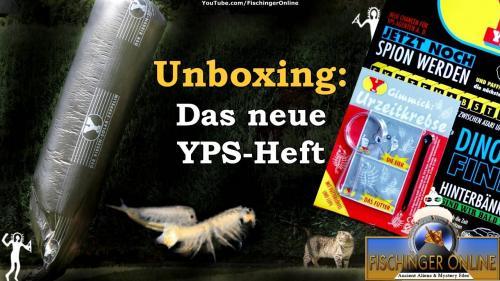 Unboxing: Das Neue YPS-Heft - von Kinder-UFOs bis zertretenen Urzeitkrebsen (Bild: L.A. Fischinger / WikiCommons)