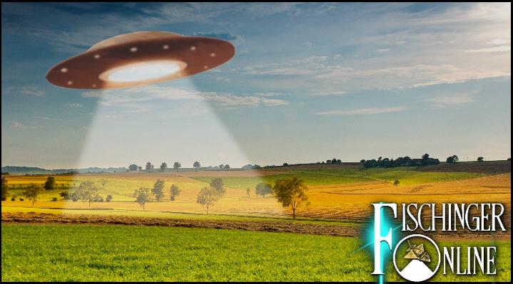 Die UFO-Landung der Trigonier 1997 in Deutschland (Bild: gemeinfrei / Montage: L. A. Fischinger)