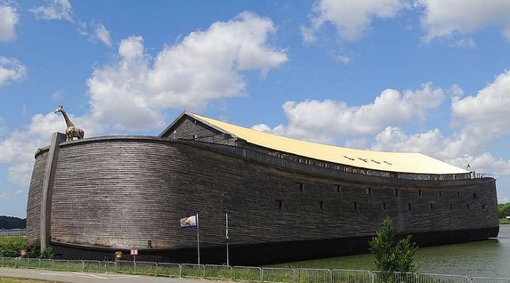 Nach Gottes Plan: Ein Niederländer baute die Arche Noah der Bibel originalgetreu nach - Aber hat er das tatsächlich? (Bild: gemeinfrei)