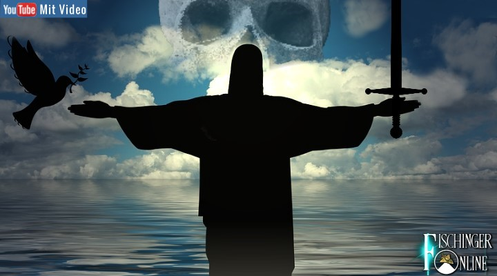 Mord und Totschlag im Namen Gottes: Wie das ZDF die Bibel für die Zuschauer schön redet (Bilder: gemeinfrei / Montage: Fischinger-Online)