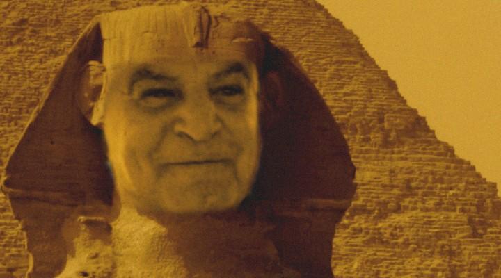 "Ägyptens ""letzter Pharao"": Dr. Zahi Hawass (Bild & Montage: L. A. Fischinger / Hawass: WikiCommons/gemein frei)"
