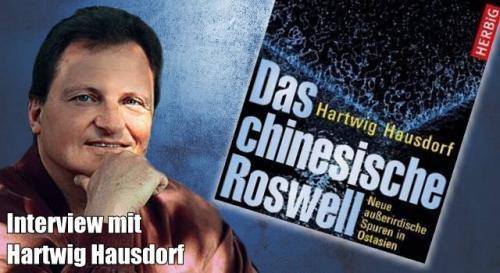 """""""Das chinesische Roswell"""" - Interview mit Hartwig Hausdorf (Bild: H. Hausdorf / Herbig Verlag / L. A. Fischinger / Montage: L. A. Fischinger)"""