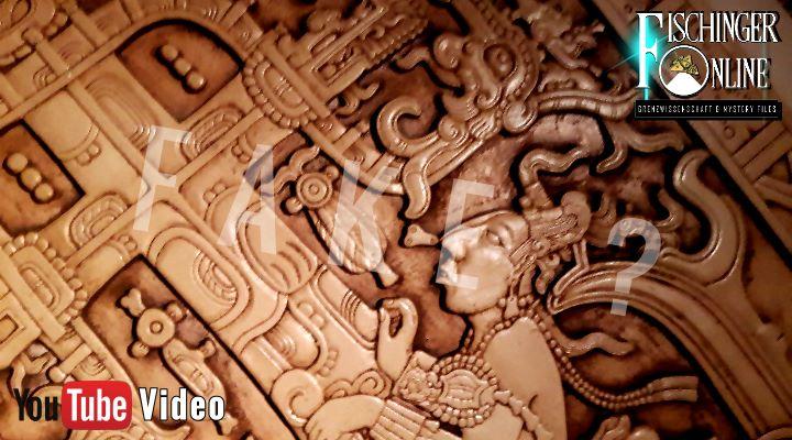 Ist die weltberühmte Grabplatte von Palenque ein Fälschung? Denn das wird behauptet ... (Bild: L. A. Fischinger)