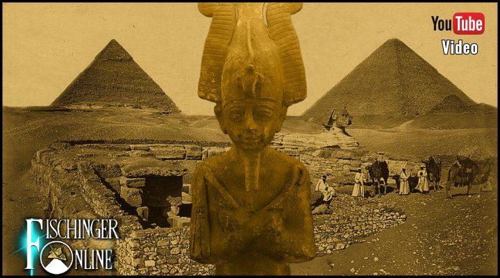 VIDEO: Das Mysterium des  Osiris-Grab von Gizeh: Ein verstecktes Gang-System unter der Cheops-Pyramide?