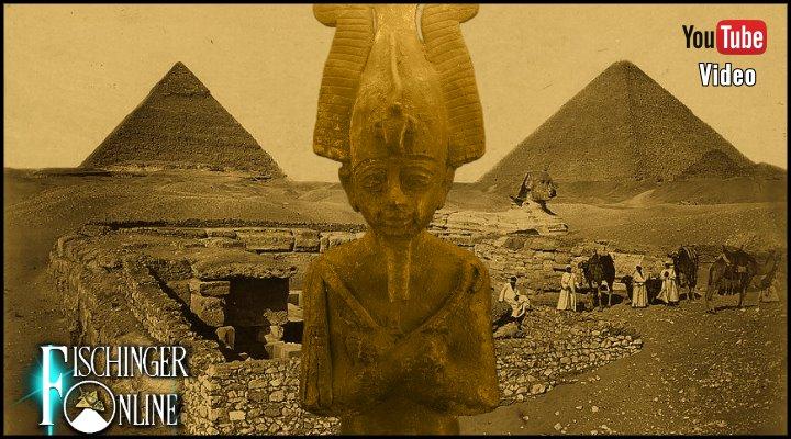 Video: Das Mysterium des  Osiris-Grab von Gizeh: Ein verstecktes Gang-System unter der Cheops-Pyramide? (Bilder: L. A. Fischinger / Archiv / gemeinfrei)