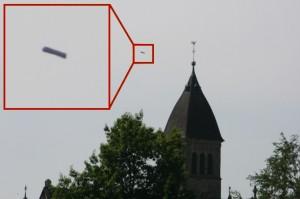 UFO-Alarm in Deutschland! (Bild: L. A. Fischinger)