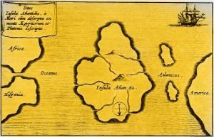 Gab es Atlantis? (Bild: L. A. Fischinger / gemeinfrei)
