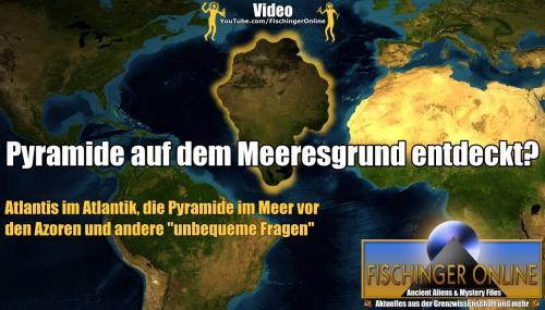 Pyramide im Meer gefunden - neue Beweise für Atlantis? (Bild: GoogleEarth / L. A. Fischinger / gemeinfrei)