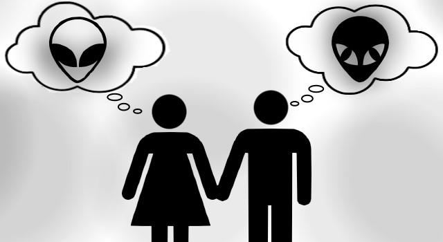 """Sind UFO-Entführungs-Berichte nur """"Sexfantasien""""? (Bild: L. A. Fischinger / gemeinfrei)"""