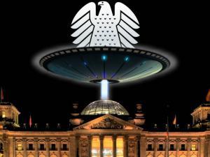 Was weiß die Bundesregierung über UFO-Akten? (Bild: WikiCommons, L. A. Fischinger