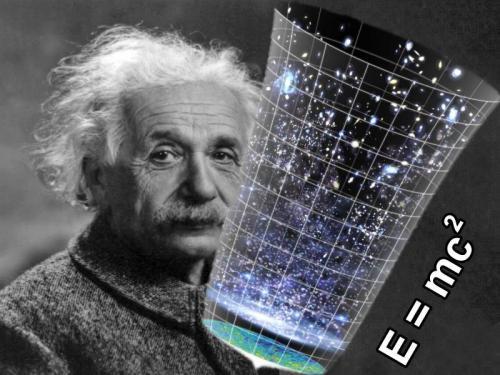 Albert Einstein und der Urknall (Bild: WikiCommons, L.A. Fischinger)