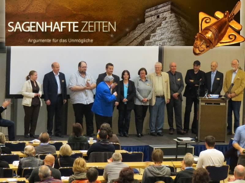 Die Referenten des A.A.S.-Meeting 2012 in Dresden (Bild: Tatjana Ingold/http://www.pixel-zauber.ch, Lars A. Fischinger, A.A.S.