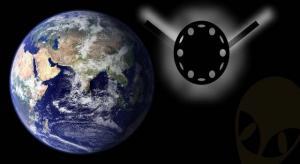 """Der """"Black Night Satellit"""": Umkreis die Erde seit Jahrtausenden ein Beweis für die Astronauten der Antike? (Bild: NASA's Goddard Space Flight Center, Greenbelt, Md. / Bearbeitung: L. A. Fischinger)"""