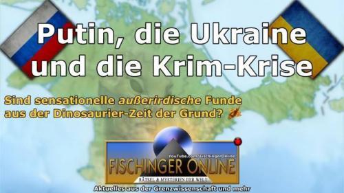 """Russland will sich angeblich 65 Millionen Jahre alte """"Alien-Artefakte"""" auf der Krim sichern (Bild: WikiCommons/gemeinfrei / L.A. Fischinger)"""