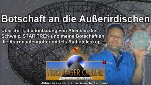 Botschaft an die Außerirdischen (Bild: L.A. Fischinger / NASA)