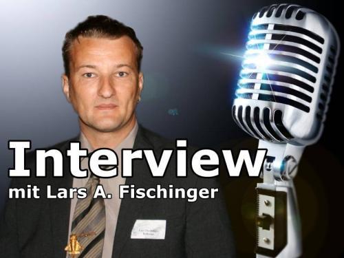 Lars A. Fischinger im Interview (Bild: S. Ampssler / WikiCommons)