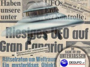 Zusammenschnitt von UFO-Meldungen aus dem Pressearchiv der DEGUFO Österreich (Bild: DEGUFO.at / L.A. Fischinger)
