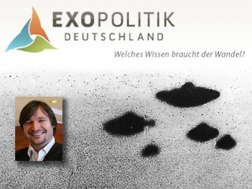 """Robert Fleischer, Gründer von """"Exopolitik Deutschland"""" (R. Fleischer / Exopolitik / L.A. Fischinger)"""