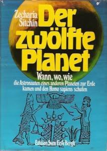 Zecharia Sitchin sein erstes Buch von 1976