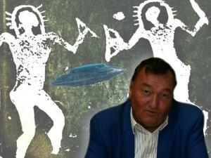 Erwartet eines Tages die Rückkehr der Astronautengötter: Erich von Däniken (Bild: S. Ampssler / L. A. Fischinger)
