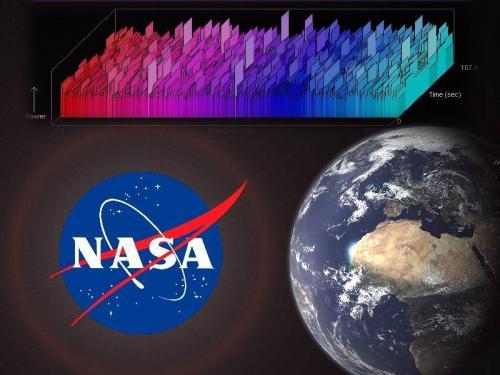 """Die NASA hat ein eBook zur Frage des """"Kontakt mit Aliens"""" veröffentlicht (Bild: NASA / L. A. Fischinger/ SETI@home)"""