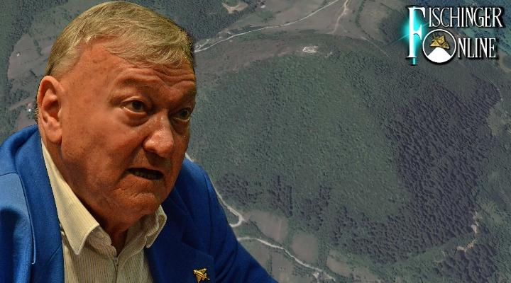 """Erich von Däniken und die """"Pyramiden in Bosnien"""" (Bild: D. Herper / Google Earth)"""