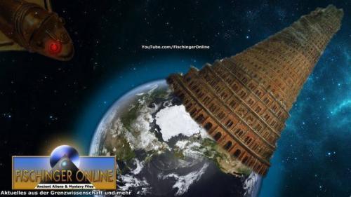 Der Turm von Babylon - himmelhoch! (Bild: WikiCommons, L. A. Fishcinger / NASA/JPL)
