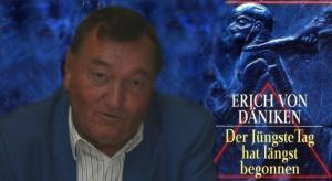 Erich von Däniken im NDR TV-Interview 1996 (Bild: L. A. Fischinger / E. v. Däniken / S. Ampssler)