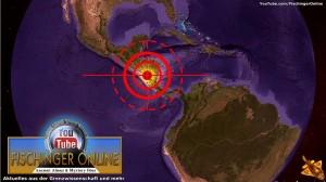 Der rätselhafte Meteoriteneinschlag von Nicaragua: NASA hat ihre Zweifel (Bild: L. A. Fischinger / Google Earth)