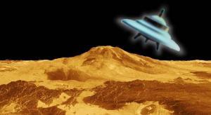 """3D-Ansicht der Venusoberfläche - dort wioll """"Omnec Onec"""" gelebt haben und dort sollen solche UFOs existieren (Bild: NASA/JPL / L. A. Fischinger)"""