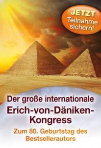 Der Kopp Verlag lädt alle Freundinnen und Freunde des Phantastischen am 11. und 12. April 2015 zum Großen Däniken-Kongress (Bild: Kopp Verlag)