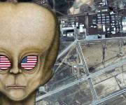 """Die """"Area 51"""" - angeblich arbeiten dort Aliens mit der USA zusammen (Bild: WikiCommons / Space Imaging, München / Llyd Pye)"""