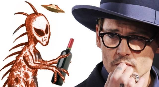 Johnny Depp der Chupacabra und der Alkohol (Bild: WikiCommons / L.A. Fischinger-Archiv / Bearbeitung: L.A. Fischinger)