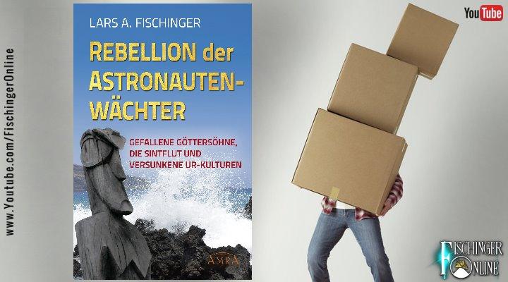 """Unboxing-Video: Zwei Pakete zur Prä-Astronautik und mein neues Buch """"Rebellion der Astronautenwächter"""" (Bild: gemeinfrei / Montage: Fischinger-Online)"""