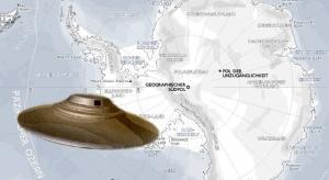 ARTIKEL: Wichtigtuer oder Whistleblower? Ein ehemaliger US-Navy-Pilot will während seines Dienstes in der Antarktis UFOs und eine Alien-Basis gesehen haben(Bild: L.A. Fischinger / WikiCommons)