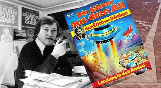 Ein Klassiker: Hörspiele und Comics nach den Ideen von Erich von Däniken (Bild: L.A. Fischinger / E. v. Däniken)