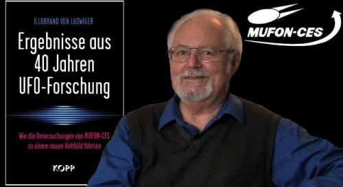 """Neues Buch von Illobrand von Ludwiger: """"Ergebnisse aus 40 Jahren UFO-Forschung"""" (Bild: Exopolitik / Kopp-Verlag / MUFON-CES)"""