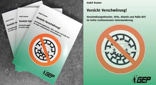 """Neuer Sonderband der GEP: """"VORSICHT VERSCHWÖRUNG"""" (Bild: GEP e.V.)"""