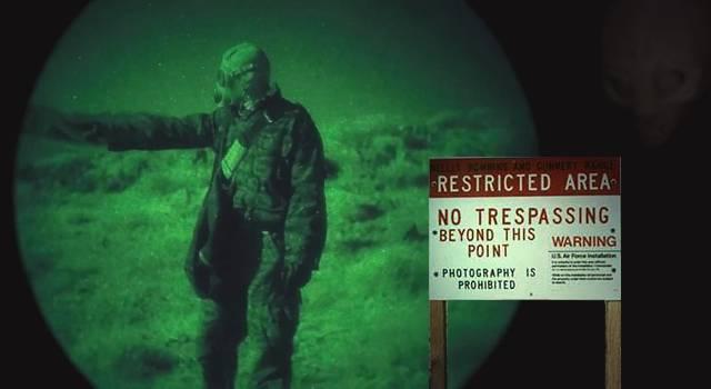 Das Geheimnis von AREA 51: im Mai wird es im Kino gelüftet (Bild: L.A. Fischinger / YouTube-Sceenshot/Insurge Pictures)