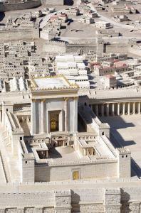 Modell des 2. Tempels von Jerusalem (Bild: gemeinfrei)