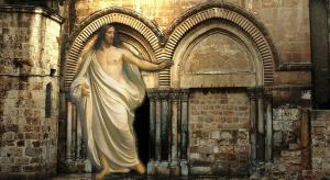 Artikel: Streit um das angebliche Grab Jesus in Jerusalem (Bild: L.A. Fischinger & gemeinfrei)