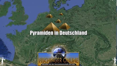 Pyramiden bei uns - sensationelle Entdeckungen in Deutschland? (Bild: L.A. Fischinger / GoogleEarth)