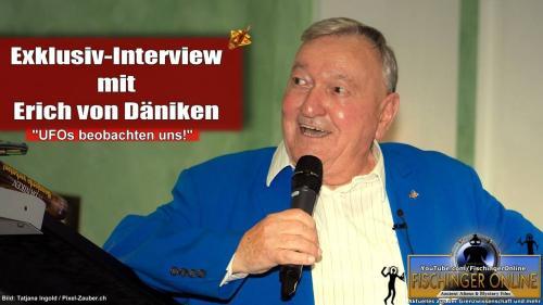 Exklusiv Interview mit Erich von Däniken (Bild: Tatjana Ingold/Pixel-Zauber.ch / Bearbeitung: L.A. Fischinger)